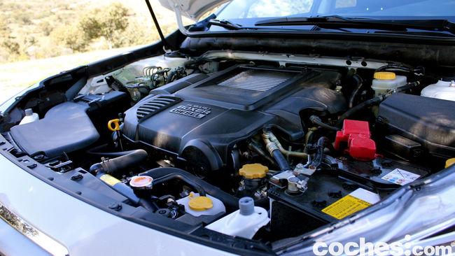 prueba Subaru Outback 2015 motor   1