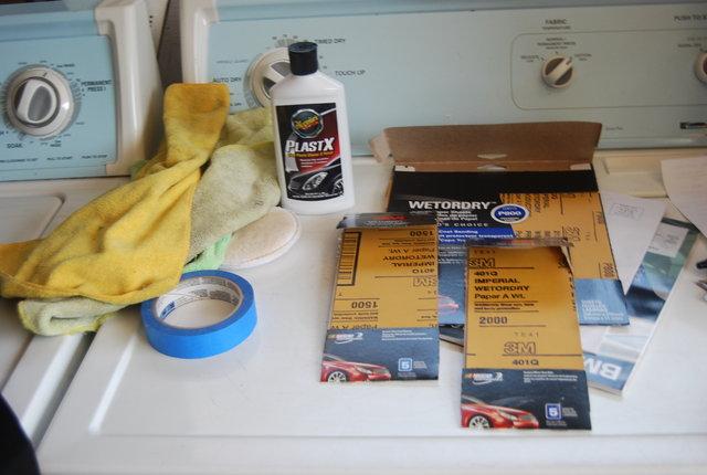 C mo pulir los faros en seis sencillos pasos - Como pulir faros de coche ...