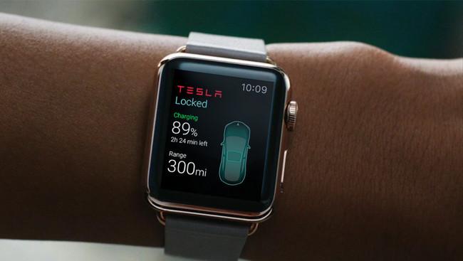 tesla reloj inteligente