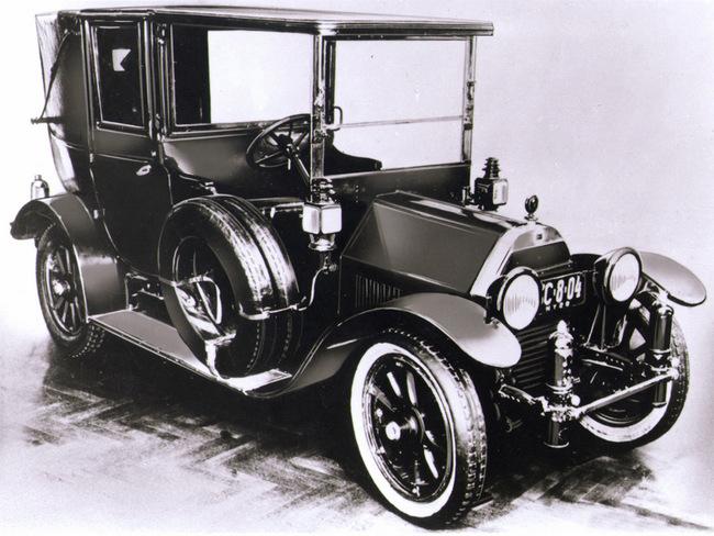 primer coche alfa romeo