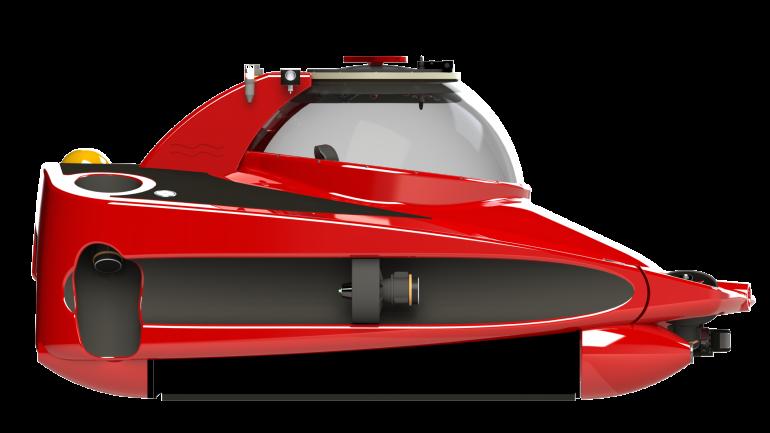 submarino rojo
