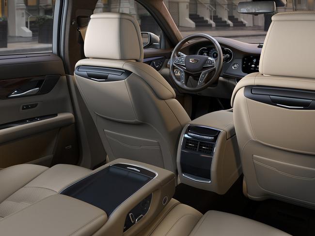 Cadillac CT6 2015 interior 01