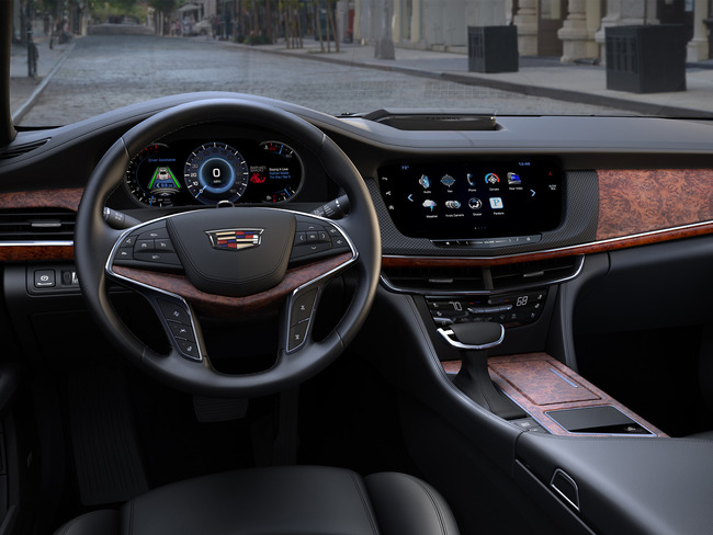 Cadillac CT6 2015 interior 06