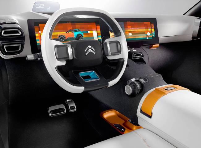 Citroen Aircross Concept 2015 interior 01