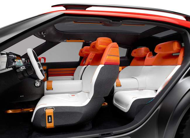 Citroen Aircross Concept 2015 interior 02
