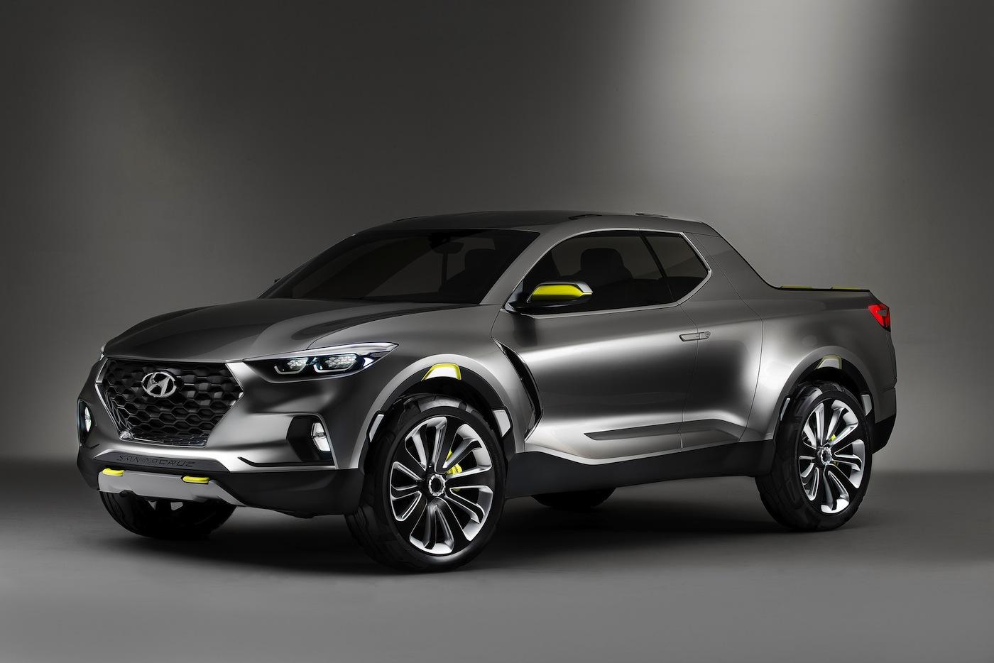 Hyundai Santa Cruz Crossover Truck Concept 2015 01