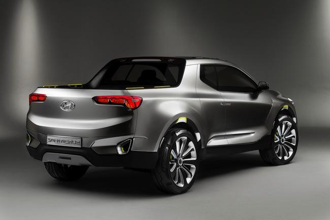 Hyundai Santa Cruz Crossover Truck Concept 2015 03