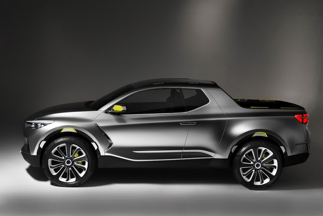 Hyundai Santa Cruz Crossover Truck Concept 2015 04