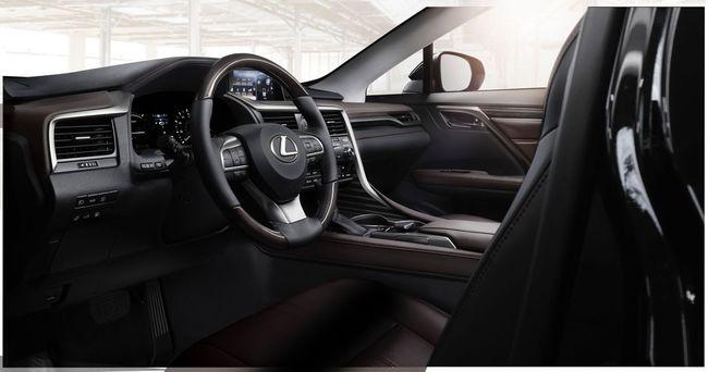 Lexus RX 2016 interior 01