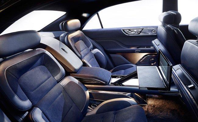 Lincoln Continental Concept 2015 interior 01
