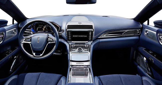 Lincoln Continental Concept 2015 interior 02
