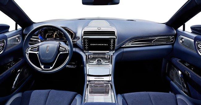 Lincoln Continental Concept 2015 interior 02