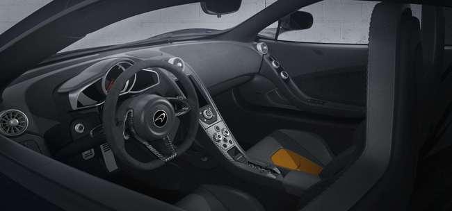 McLaren 650S Le Mans 2015 interior 01