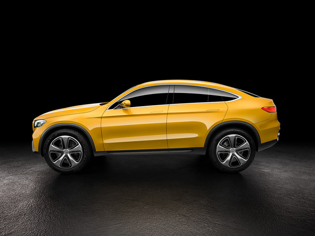 Mercedes GLC Coupe Concept 2015 01