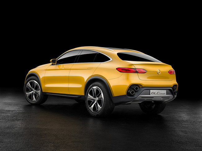 Mercedes GLC Coupe Concept 2015 02