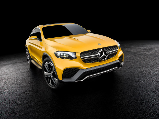 Mercedes GLC Coupe Concept 2015 04