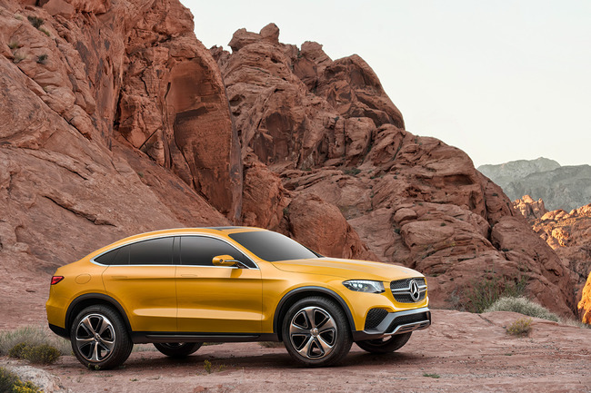Mercedes GLC Coupe Concept 2015 06