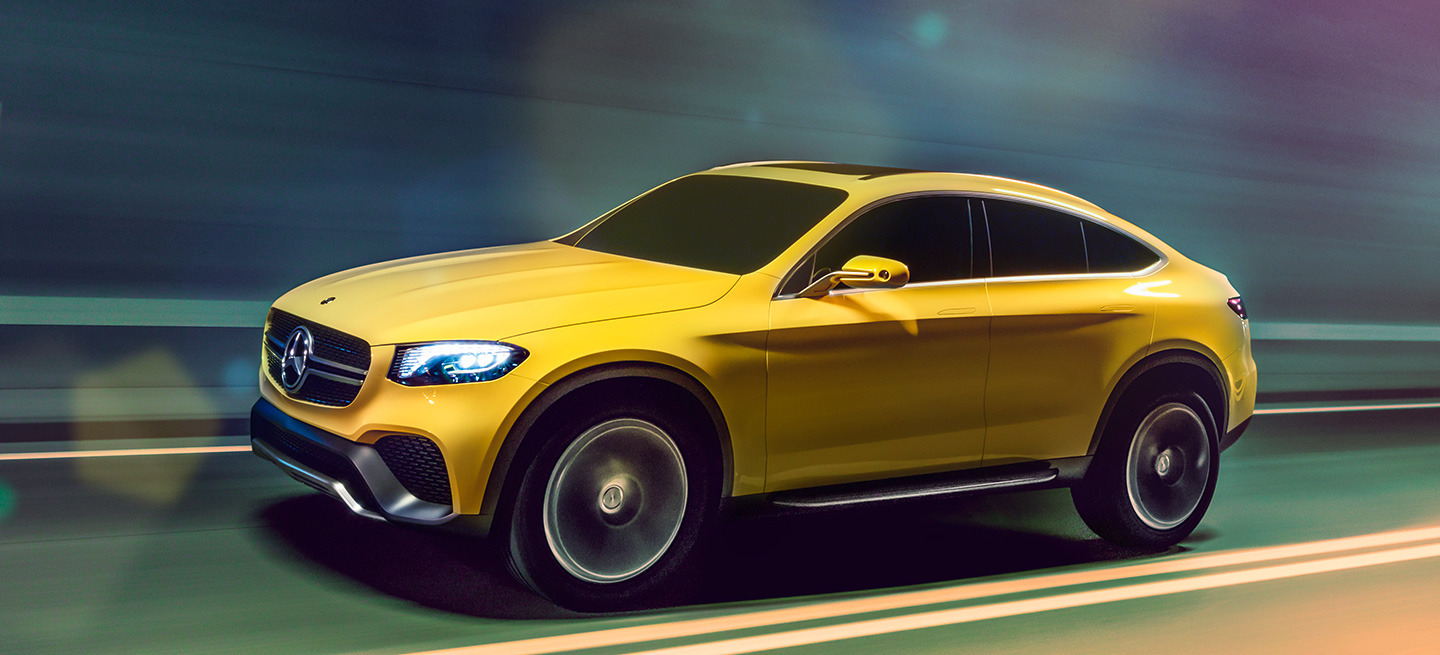 Mercedes GLC Coupe Concept 2015 10