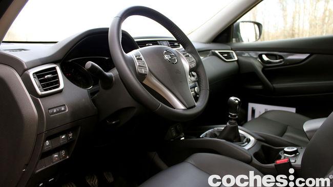 Nissan X-Trail prueba interior 13