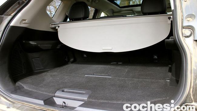Nissan X-Trail prueba maletero 1