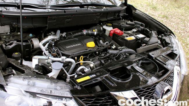 Nissan X-Trail prueba motor 2
