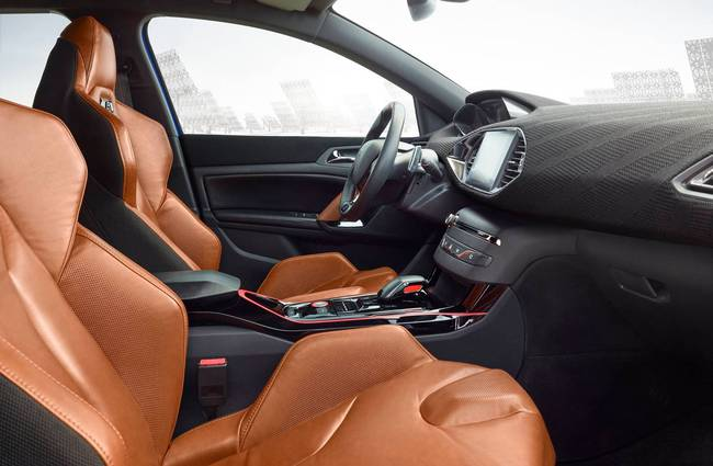 Peugeot 308 R Hybrid Concept 2015 interior 00