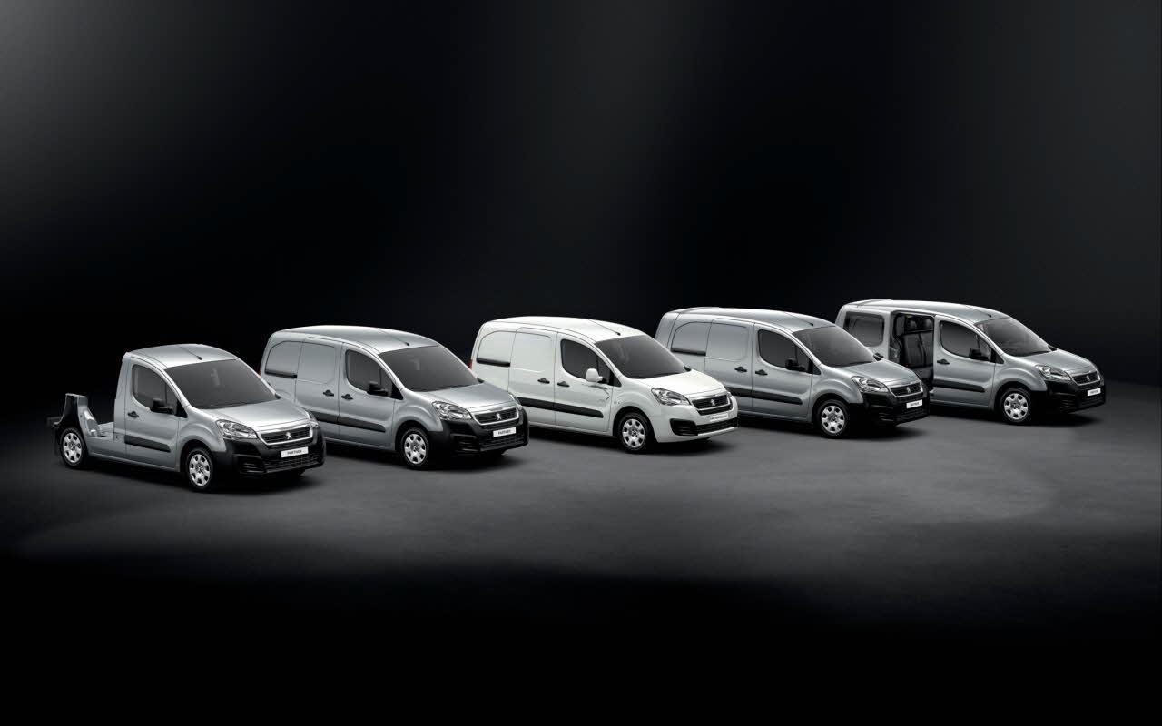 Peugeot Partner 2015 gama
