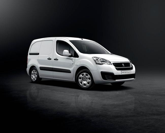 Peugeot Partner Electric 2015