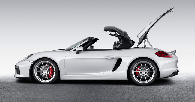 Porsche Boxster Spyder 2015 08