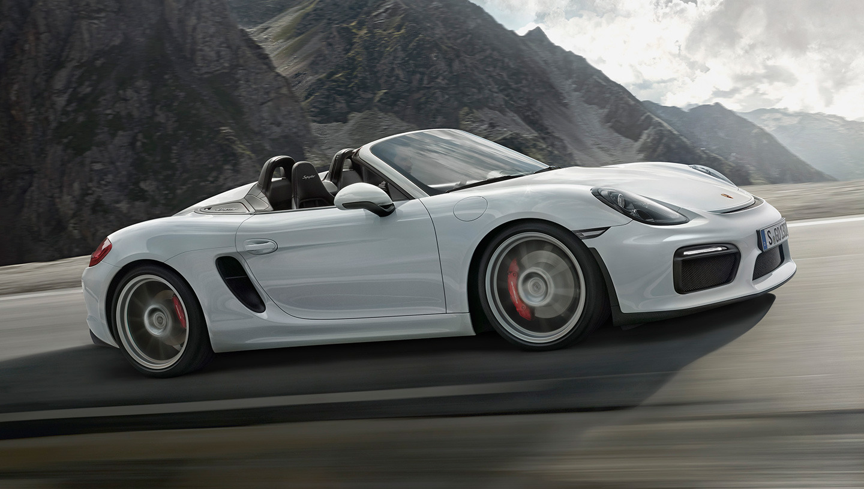 Porsche Boxster Spyder 2015 11