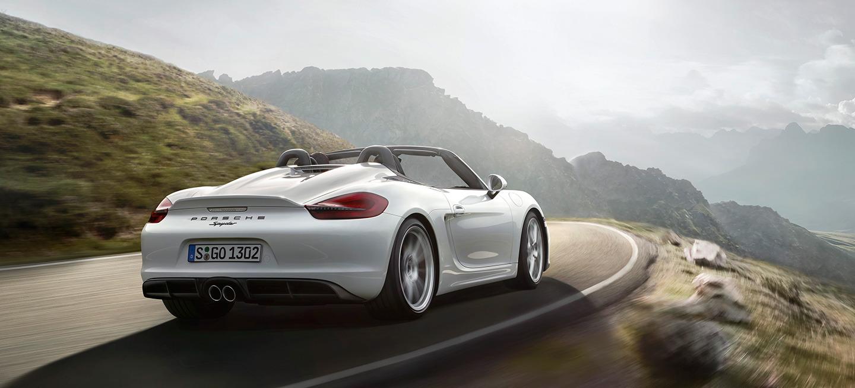 Porsche Boxster Spyder 2015 12