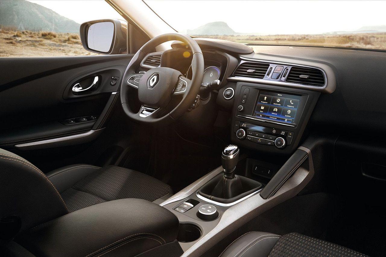 Renault kadjar xmod m s garra para el nuevo for Interior renault kadjar