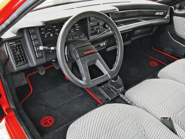 Talbot-Matra Murena S 1980 interior