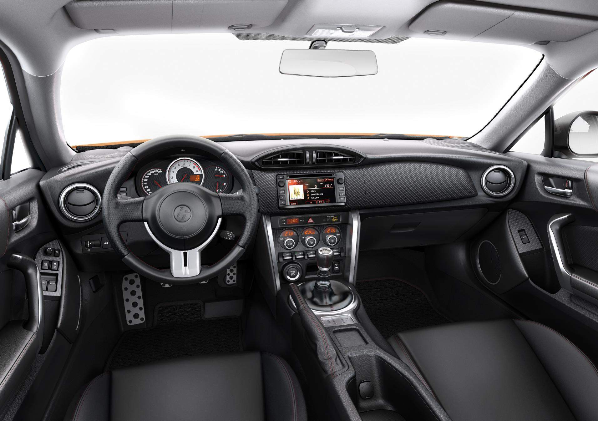 Toyota GT86 2016 interior 012