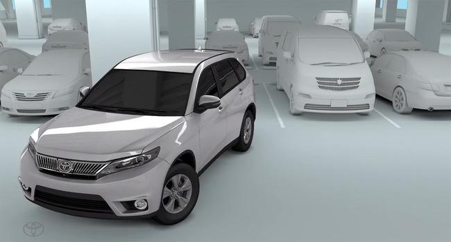 Toyota RAV4 2016 aparcamiento sensores