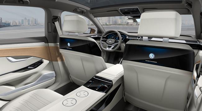 Volkswagen C Coupe GTE Concept 2015 interior 04
