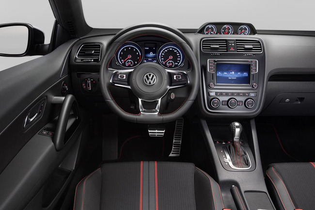 Volkswagen Scirocco GTS 2015 interior 02