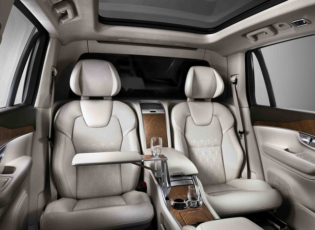 Volvo XC90 Excellence 2015 interior 01