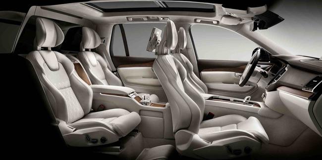 Volvo XC90 Excellence 2015 interior 03