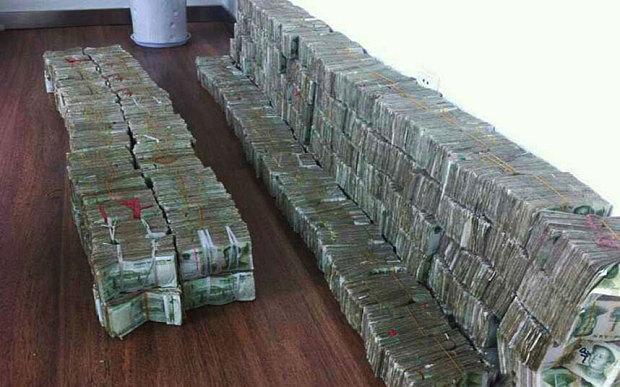 contar dinero china