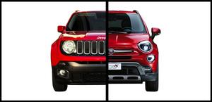 Jeep Renegade VS Fiat 500X, SUV pequeños muy capaces