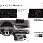 Audi Q7 e-tron 2.0 TFSI quattro 2015 esquema interior