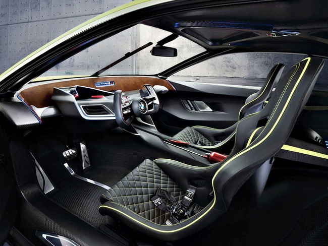 BMW 30 CLS Hommage 2015 interior 01