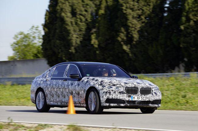 BMW Serie 7 2016 tecnologia 50