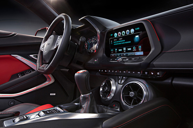 Chevrolet Camaro 2016 interior 02
