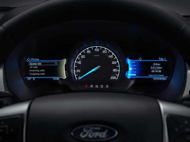 Ford Ranger 2016 interior 02