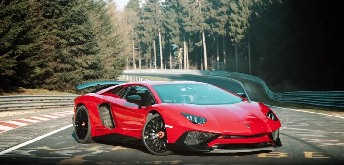 Lamborghini Aventador SV Nürburgring 02