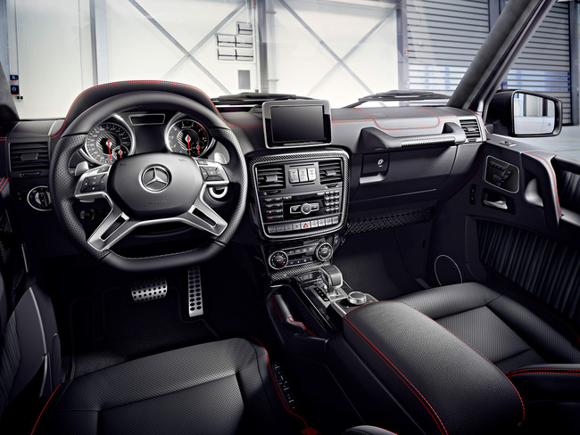 Mercedes Clase G 2015 interior 04