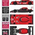 Nissan GT-R LM NISMO 2015 tecnica