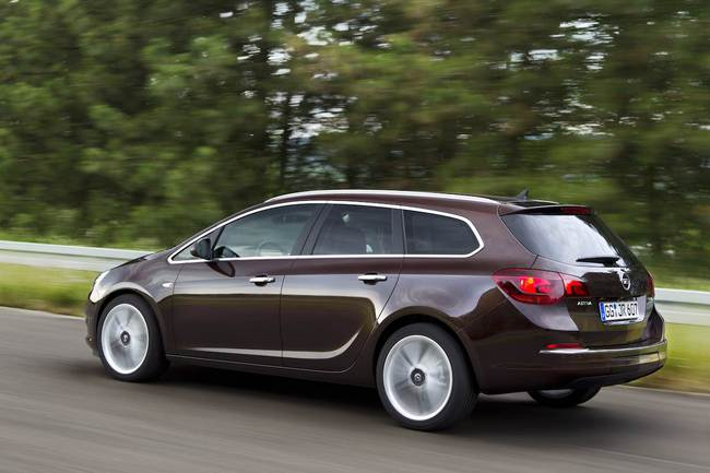 Opel Astra GLP